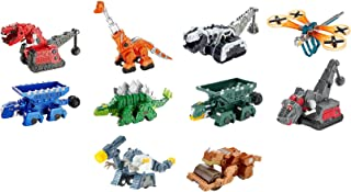 Dinotrux Diecast (10 Pack) Ty Rux, Scoot, Garby, Skya, Dragonflopter, Ton-Ton, Pounder, Rollodon, Claw Tail D-Structs, Battle Armor Ty Rux
