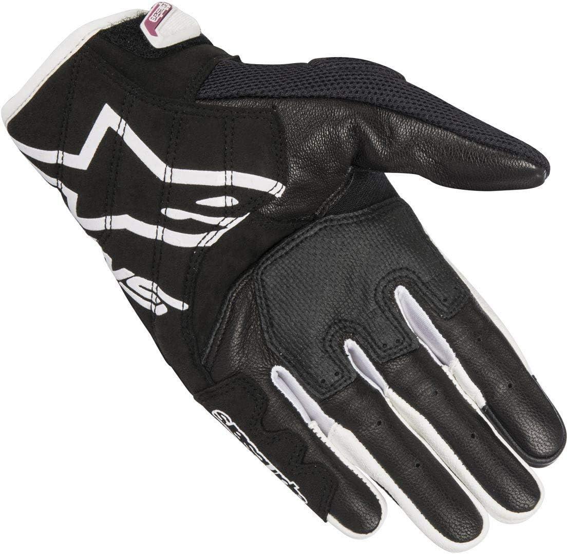 XS Alpinestars 3302-0499-PU Motorrad Handschuhe Schwarz//Weiss