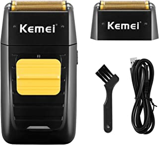 KEMEI Professional Electric Razor for Men Electric Foil Shaver Foil Lithium Titanium Foil Shaver...