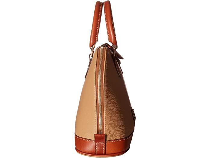 Dooney & Bourke Pebble Zip Schel Desert Handbags
