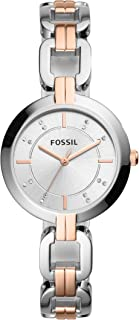 Fossil Women's Kerrigan Quartz Stainless Steel Dress Quartz Watch