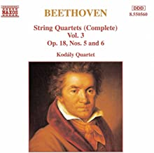 Beethoven: String Quartets Op. 18, Nos. 5 And 6