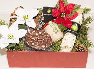 Caja de Navidad cerdo (cerdo) 2–Salumificio artigianale gombitelli–Colección de Regalos de Navidad 2017–Toscana Italia