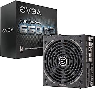 EVGA Supernova 650 P2 Unidad de - Fuente de alimentación (650 W, 100-240 V, 50-60 Hz, 100 W, 649,2 W, 100 W)