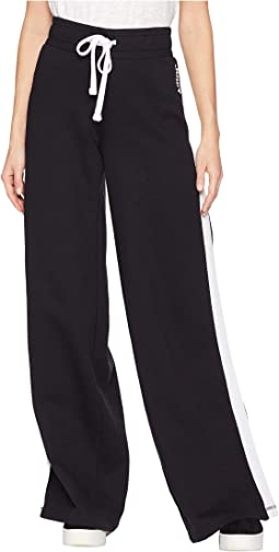 Fleece Wide Leg Pants