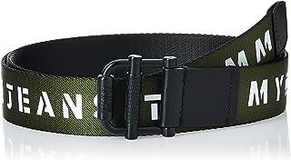 حزام منسوج للرجال تي جيه ام - رولر ريف من تومي هيلفجر بعرض 3.5، ازرق، 90 سم