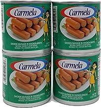 Salchichas Carmela De Pollo, Chicken Vienna Sausage 12 Count