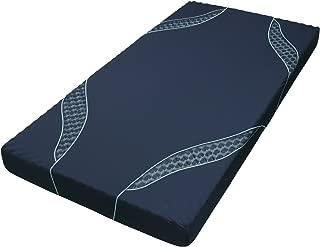 東京西川 [エアー01] ベッドマットレス 高反発 厚み14cm シングル 硬さハード ネイビー NUN5702012NV