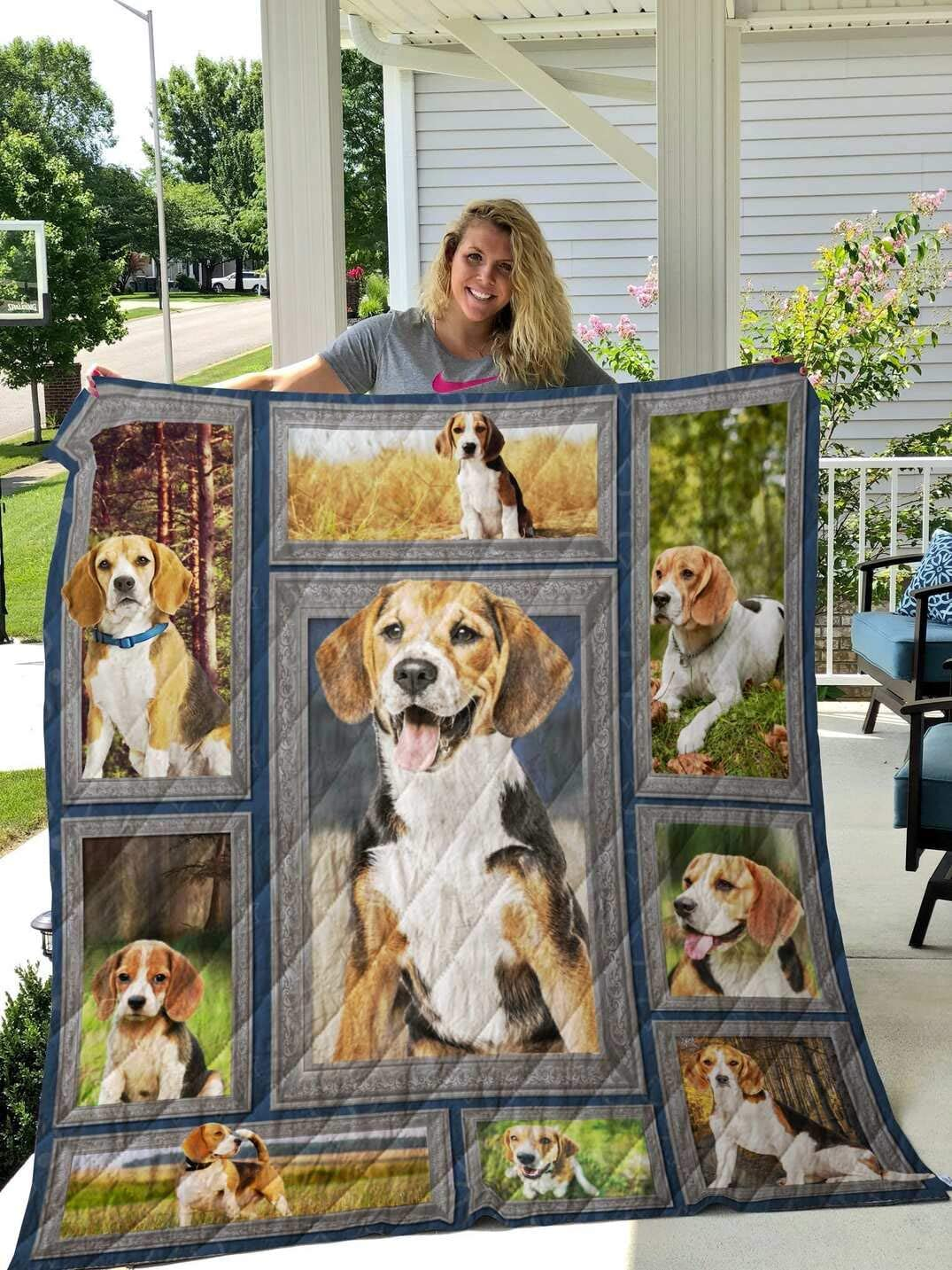 Personalized Beagle My Wake Me Up Lo quality assurance Quilt Trust for Gift Your
