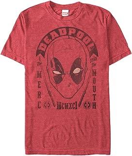 Marvel Men's Deadpool MERC with Mouth 1991 T-Shirt