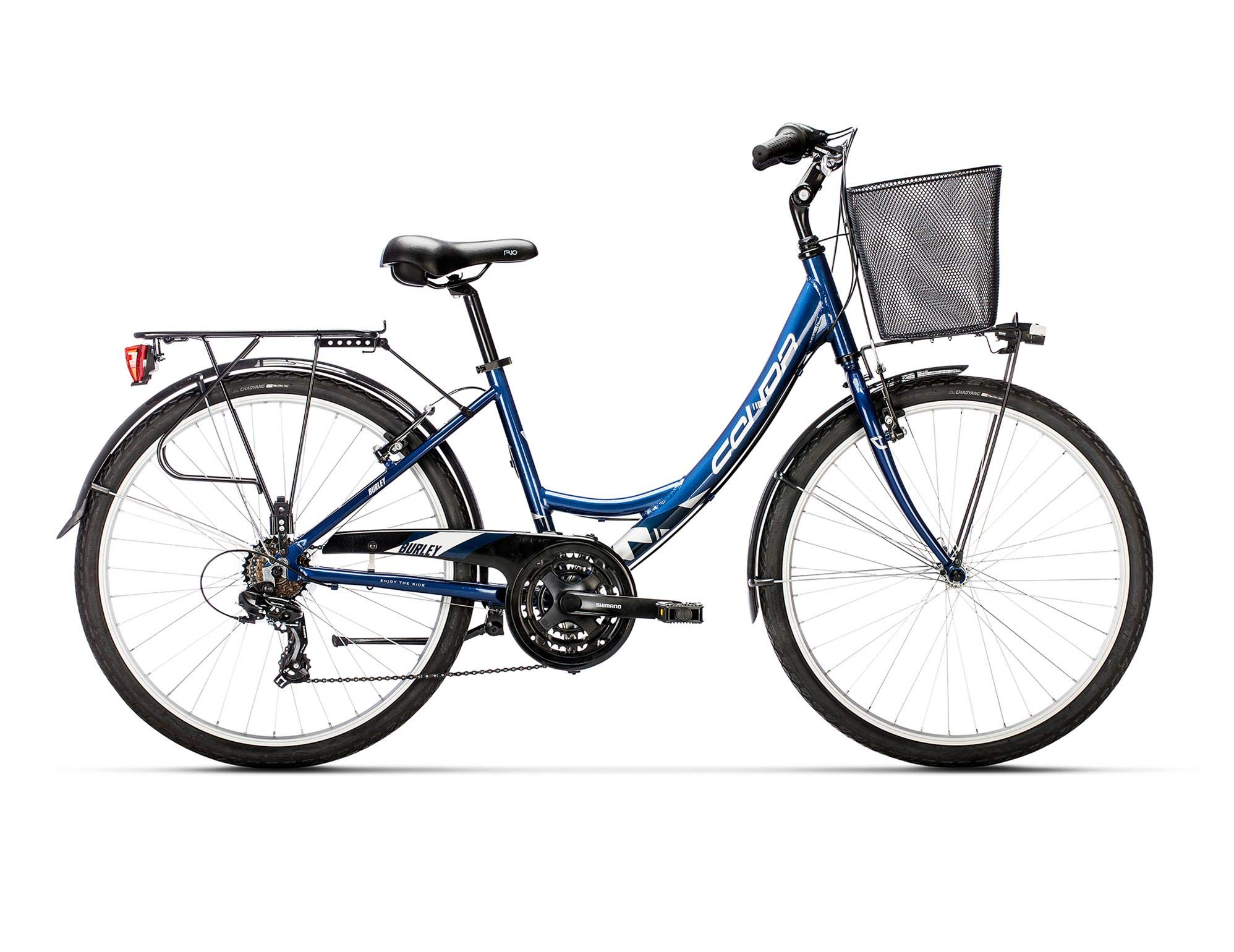 Conor Burley Bicicleta Ciclismo Mujer, Azul, M: Amazon.es ...