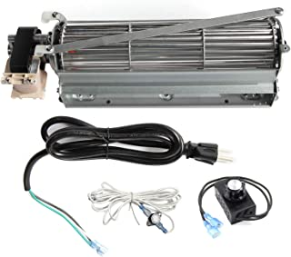 Mr. KAN Standard Sized BLOT Replacement Fireplace Blower Fan KIT for Monessen, Hearth Systems, Martin, Majestic, Hunter Fireplaces