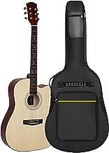 Guitar Bag Backpack Guitar Gig Bag with Thick Padding Guitar Case for Acoustic Guitar, Electric Guitar, Bass Guitar, Class...