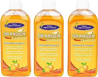 AQUA CLEAN Orangenreiniger 3x250ml Hochkonzentrat