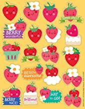 Eureka Strawberry Stickers, Scented (650917)