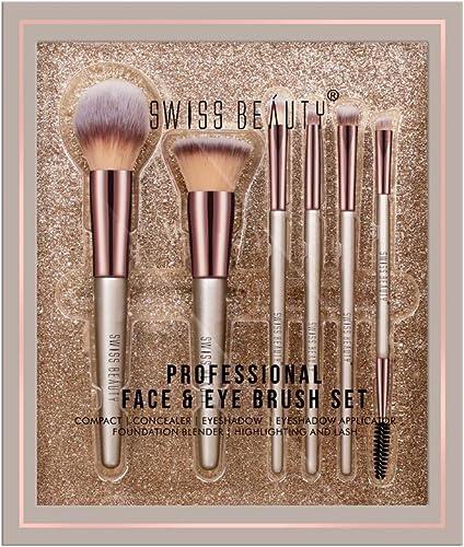 Swiss Beauty Professional Face & Eye Brush Set
