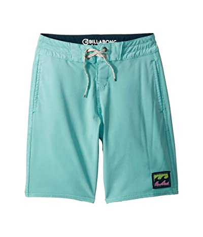 Billabong Kids All Day Light Boardshorts (Big Kids) (Aqua) Boy