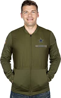 dallas cowboys salute to service hybrid jacket