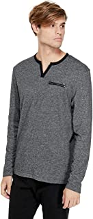 GUESS Factory Men's Denzel Long-Sleeve Tee