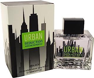 Antonio Banderas Urban Seduction In Black Mens Eau de Toilette Spray 3.4 Ounce by Antonio Banderas