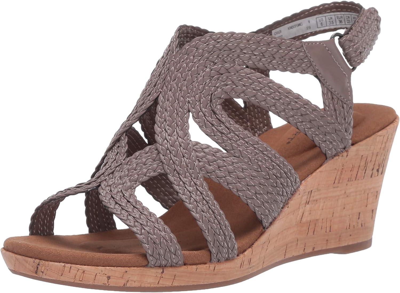 Rockport Women's Slide Easy-to-use Wedge Selling Sandal