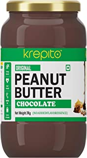 Krepito Chocolate Creamy Peanut Butter 1kg
