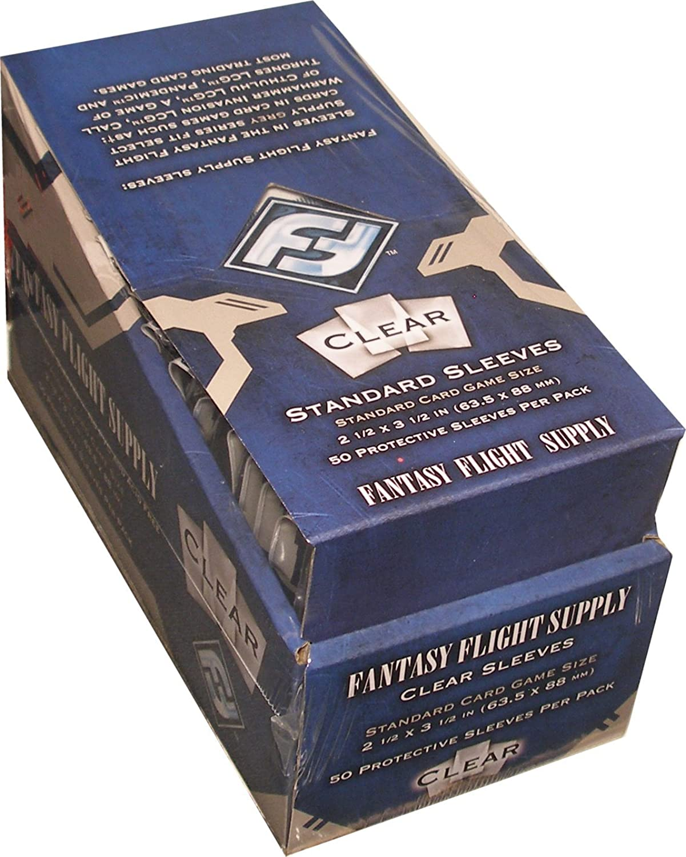 500 Fantasy Flight Games Standard Card Game Größe Sleeves - 10 Packs + Box - FFS05 63.5 x 88 by Fantasy Flight Games