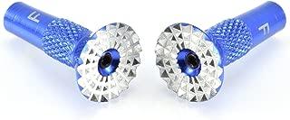 Apex RC Products Blue Aluminum Futaba / Spektrum DX6 DX6i DX7S DX8 DX9 / Taranis X9DRC Transmitter Gimbal Stick Ends #1710