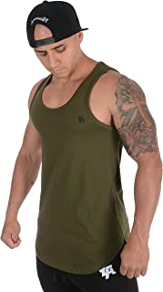 YoungLA Tank Tops for Men Workout Elongated Gym 315