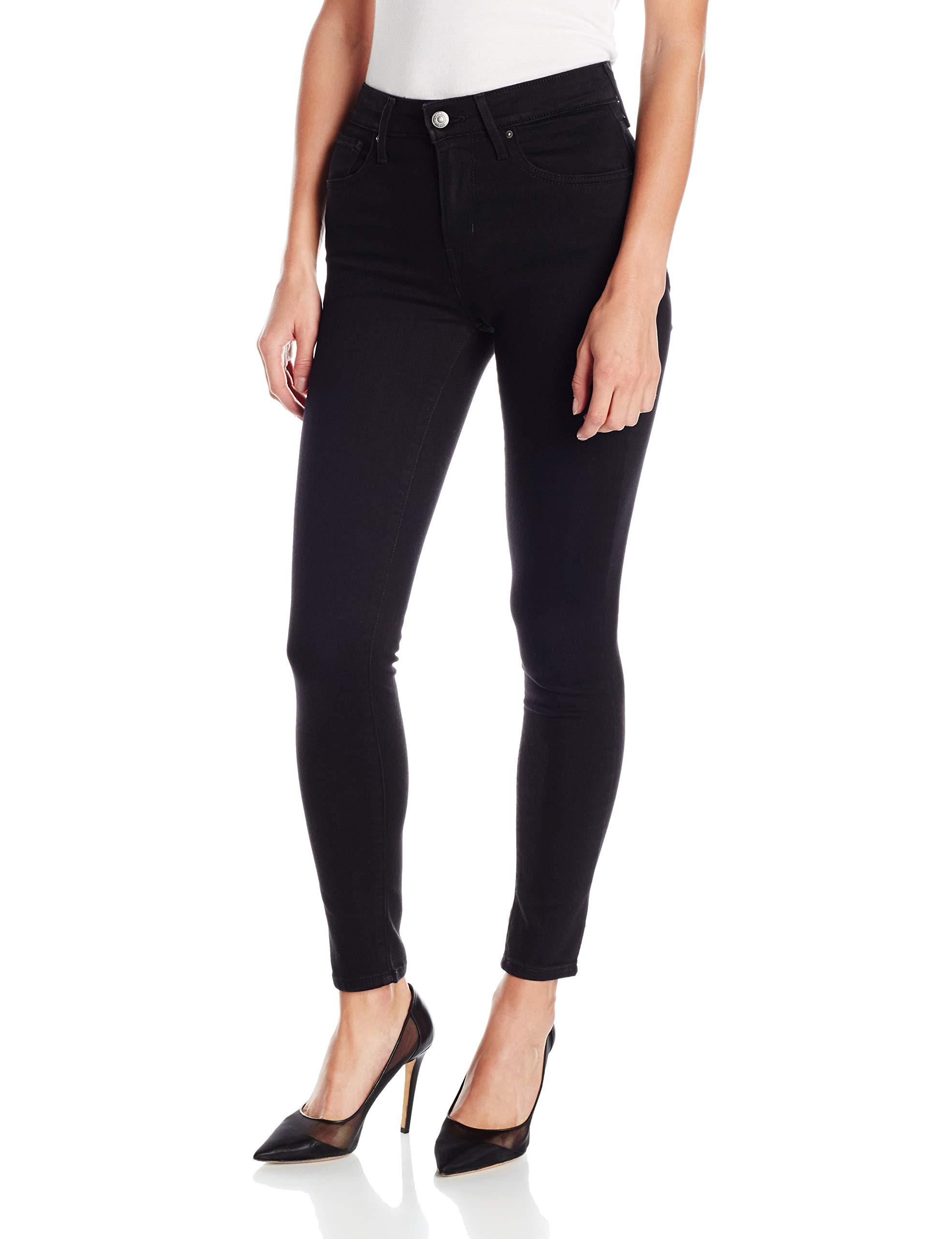 Levis Womens Skinny Jeans Black