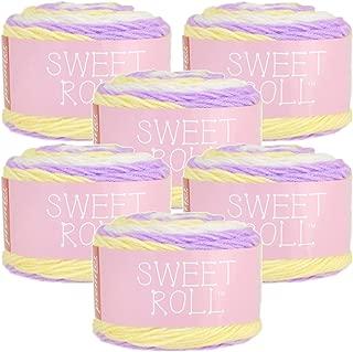 Premier Yarns 98733 Sweet Roll Yarn 6/Pk, Lemon Berry Pop 6 Pack