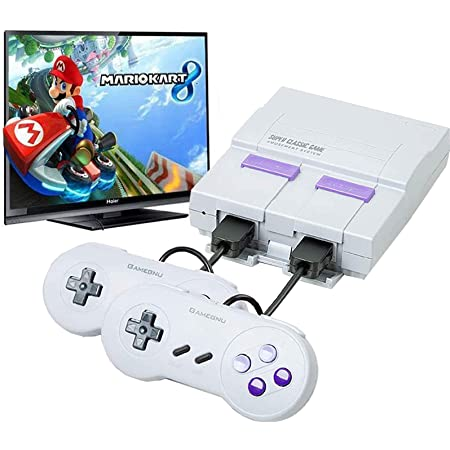 Classic Game Consoles,Retro Game Console with Built-in 660 NES Games and 2 NES Classic Controller,HD AV Output,Childhood Classic Game,Children Gift,Birthday Gift Happy Child Memories