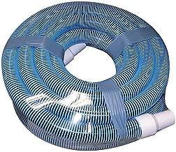 Poolmaster 33440 Heavy Duty In-Ground Pool Vacuum Hose With Swivel Cuff, 1-1/2-Inch by 40-Feet