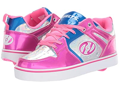 Heelys Motion 2.0 (Little Kid/Big Kid/Adult) (Pink/Silver/Aqua) Girls Shoes