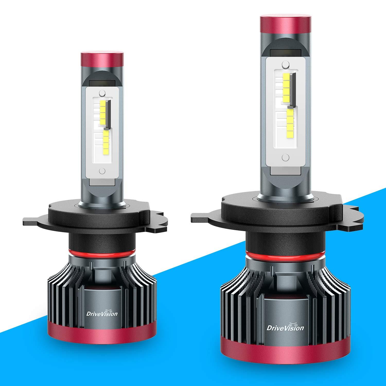 H4 LED Headlight Bulb Play High Low Beam 6000K Conversion Kit 5 Years Warranty