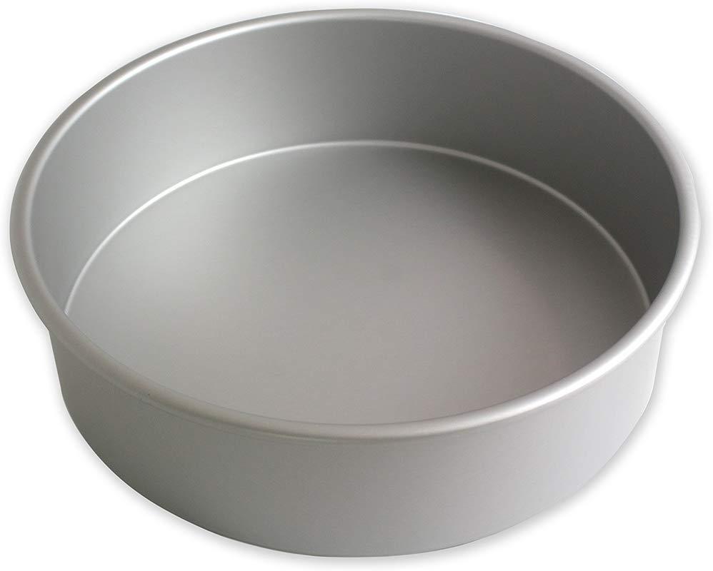 PME RND163 Seamless Professional Aluminum Baking 16 X 3 Anodised Aluminium Round Cake Pan 16 X 3 Inch Deep 16 Silver