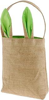 Baoblaze Easter Egg Bag for Kids Bunny Ear Bags Carry Eggs Candy Gifts Cute Handbag