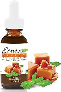 Stevia Drops-Stevia Select-Stevia Liquid Caramel Keto Flavor Drops-Coffee Syrup Sugar Free-Sugar Substitute for Baking Ket...