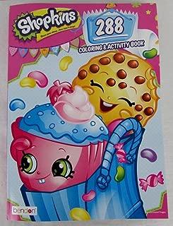 Shopkins 288pg Coloring & Activity Book