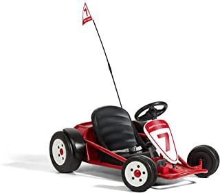 Radio Flyer Ultimate Go-Kart, 24 Volt Outdoor Ride On Toy, Ages 3-8