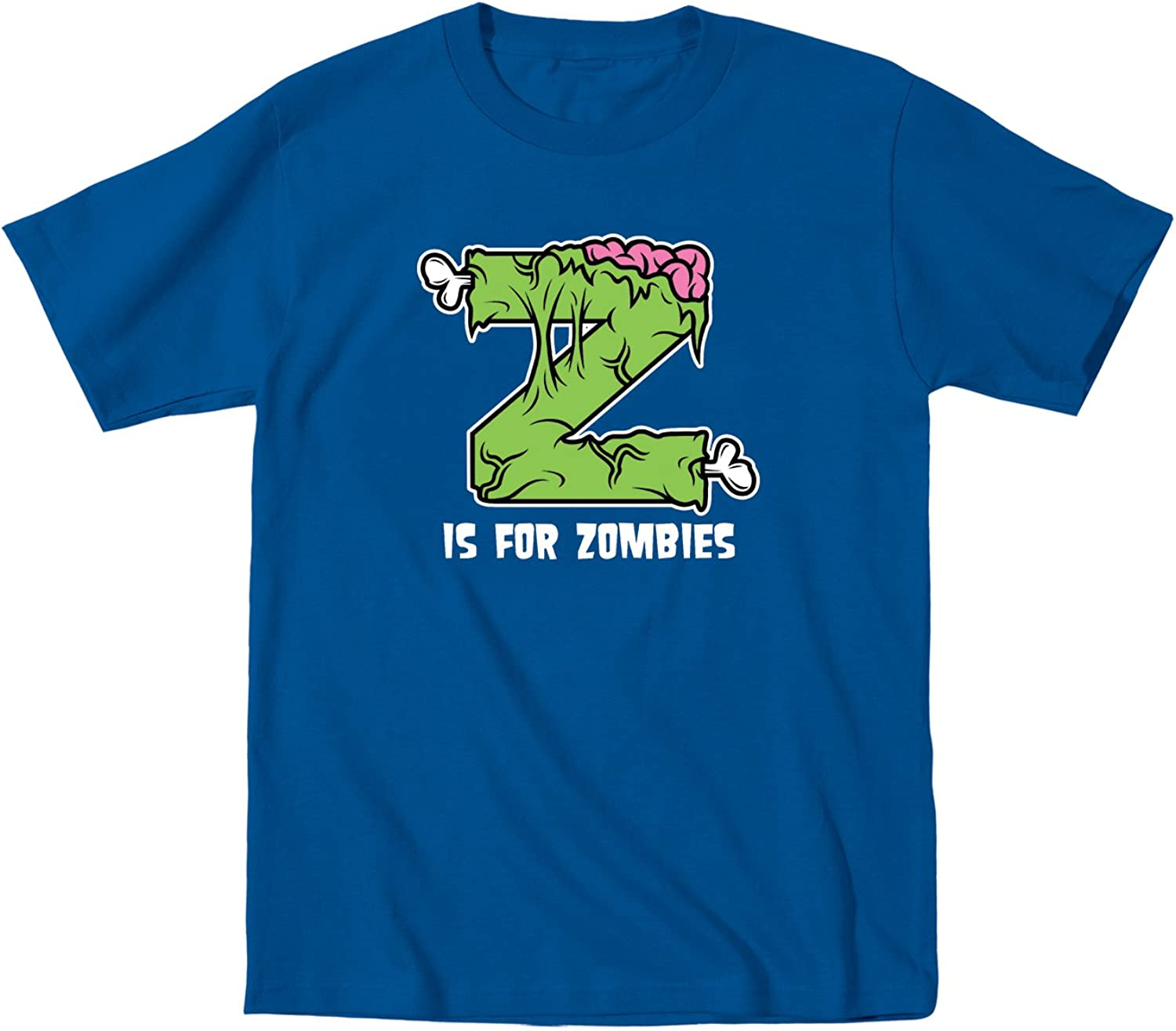 Instant Message Z is for Zombies Funny Cute Zombie Cool Fun - Toddler Short Sleeve T-Shirt