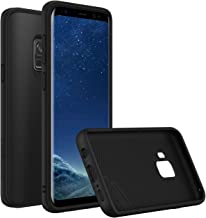 RhinoShield Case for Galaxy S9 [SolidSuit] | Shock Absorbent Slim Design Protective Cover - Compatible w/Wireless Charging [3.5M / 11ft Drop Protection] - Classic Black