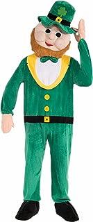 Forum Novelties Men's Plush Leprechaun Mascot Costume