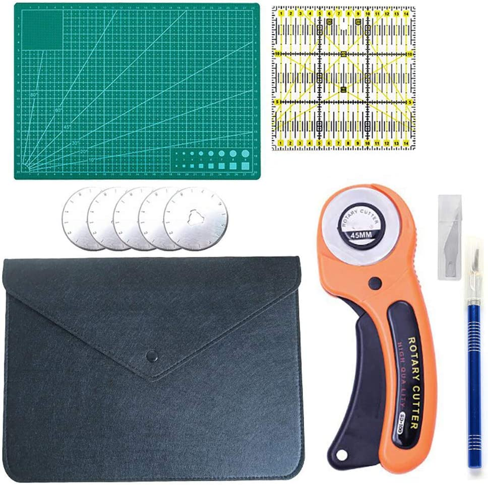 Rotary Cutter Set Quilting Tool with Factory outlet Lowest price challenge Kit 5 45mm