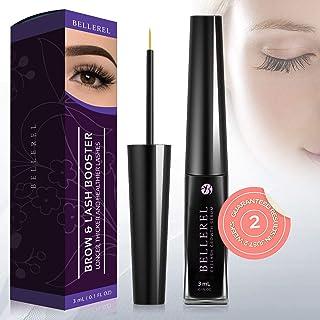 8429305f55b Bellerel Eyelash Growth Serum, Eyelash Enhancer, Natural Non-irritating Lash  and Brow Booster