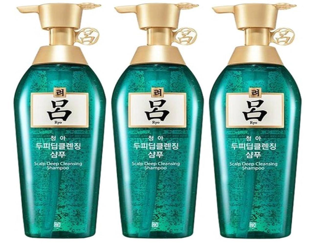 急降下忘れられない時の脱毛防止シャンプー (アモーレパシフィック) 呂 チョンア頭皮 シャンプー Scalp Deep Cleansing Shampoo 500ml X 3 (海外直送品) [並行輸入品]