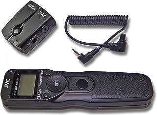 Control Remoto inalámbrico Marca vhbw para Canon EOS 1D 3 5D 5D Mark II 7D 10D 20D 30D 40D 50D sutituye RS-80N3.