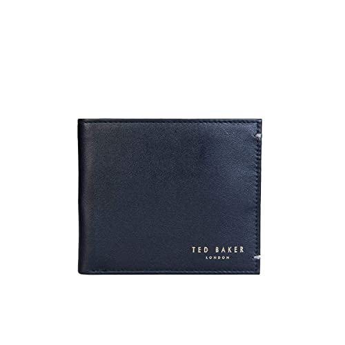 ac0c27f14 Ted Baker ANTONYS BLACK BI-FOLD LEATHER WALLET