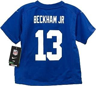 NIKE Odell Beckham Jr York Giants Blue Preschool Game Jersey