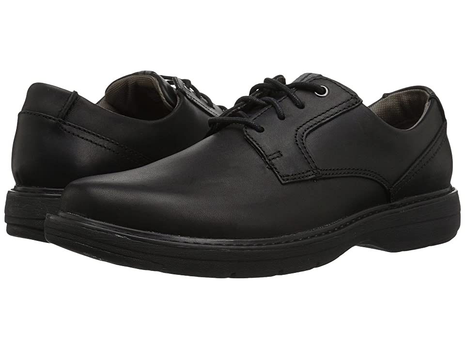 Clarks Cushox Pace (Black Leather) Men